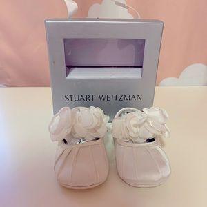 Stuart Weitzman - Embellished Baby Shoes